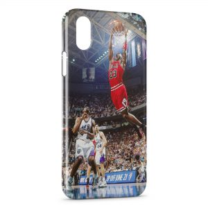 Coque iPhone XS Max Dunk Power Bulls Basket