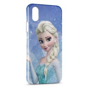 Coque iPhone XS Max Elsa Frozen Queen