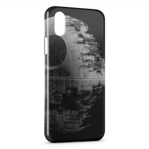 Coque iPhone XS Max Etoile Noire Star Wars