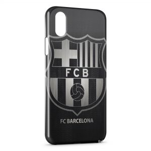 Coque iPhone XS Max FC Barcelone 5