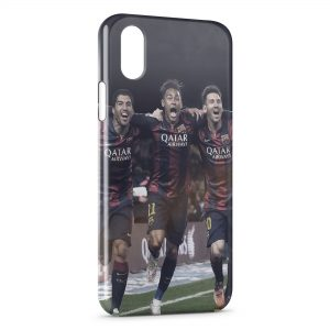 Coque iPhone XS Max FC Barcelone 7 Football