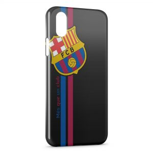Coque iPhone XS Max FC Barcelone FCB Football 22