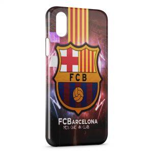 Coque iPhone XS Max FC Barcelone FCB Football 30