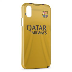 Coque iPhone XS Max FC Barcelone FCB Football 44