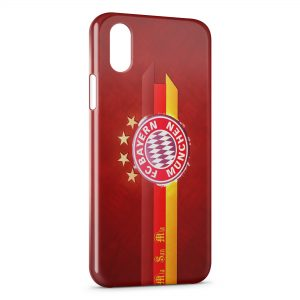 Coque iPhone XS Max FC Bayern Munich Football Club 17