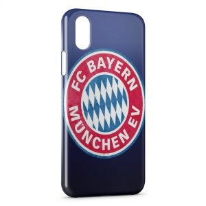 Coque iPhone XS Max FC Bayern Munich Football Club 18