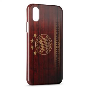 Coque iPhone XS Max FC Bayern Munich Football Club 21