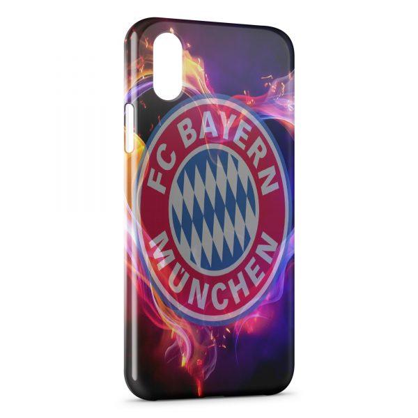 Coque iPhone XS Max FC Bayern Munich Football Club 23