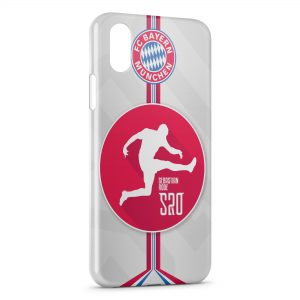 Coque iPhone XS Max FC Bayern Munich Football Club 24