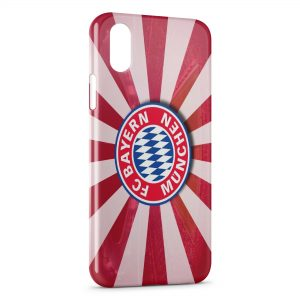 Coque iPhone XS Max FC Bayern Munich Football Club 26