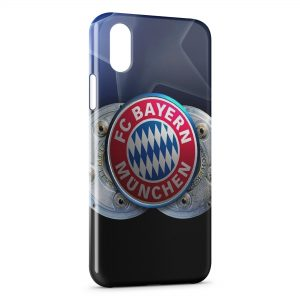 Coque iPhone XS Max FC Bayern de Munich Football 11