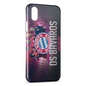 Coque iPhone XS Max FC Bayern de Munich Football 27