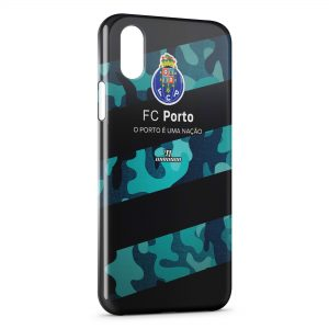 Coque iPhone XS Max FC Porto Logo Design