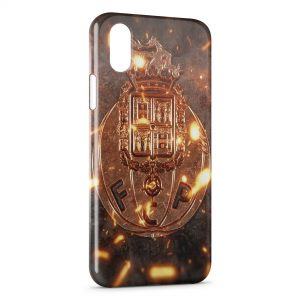 Coque iPhone XS Max FC Porto Logo Design 5