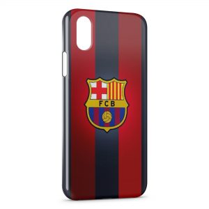 Coque iPhone XS Max FCB Football Barcelone