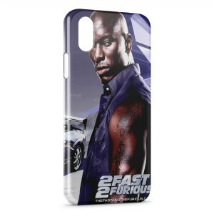Coque iPhone XS Max Fast & Furious Personnage