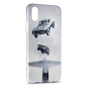 Coque iPhone XS Max Fast and Furious Design Graphic
