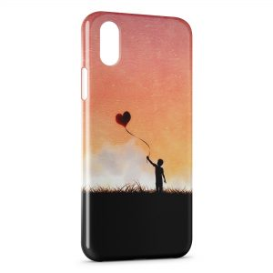 Coque iPhone XS Max Feel my Love