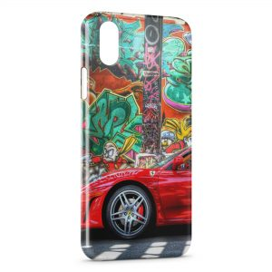 Coque iPhone XS Max Ferrari 3