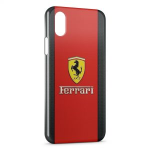Coque iPhone XS Max Ferrari