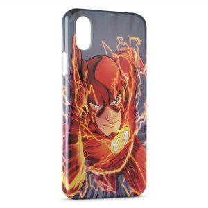 Coque iPhone XS Max Flash Avenger Red