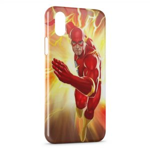 Coque iPhone XS Max Flash Power Marvel Comic