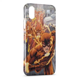 Coque iPhone XS Max Flash Style Marvel