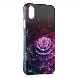 Coque iPhone XS Max Flower Stars