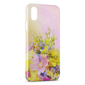 Coque iPhone XS Max Flowers Beautiful