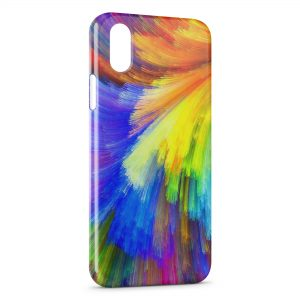 Coque iPhone XS Max Flush Paint