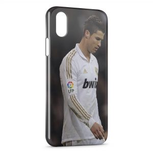Coque iPhone XS Max Football Cristiano Ronaldo
