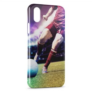 Coque iPhone XS Max Football Style Art