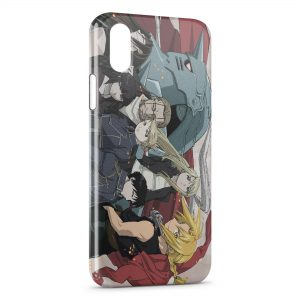 Coque iPhone XS Max Fullmetal Alchemist Brotherhood 4