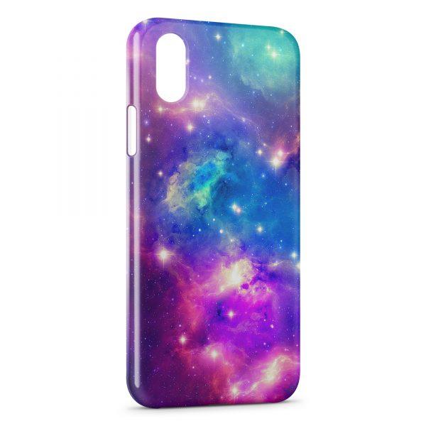 coque iphone xs max galaxie