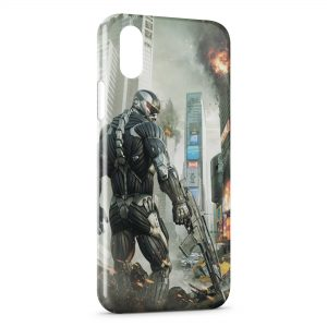 Coque iPhone XS Max Game Robot 2