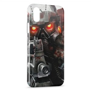 Coque iPhone XS Max Game Robot