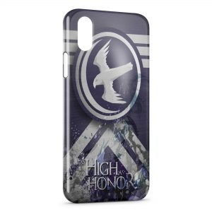 Coque iPhone XS Max Game of Thrones As High As Honor Arryn