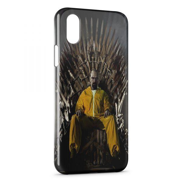 Coque iPhone XS Max Game of Thrones Breaking Bad Heinsenberg