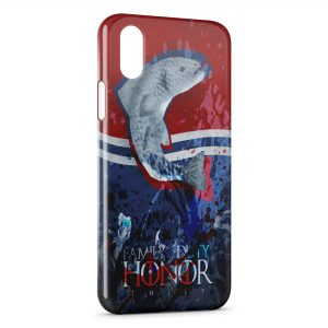 Coque iPhone XS Max Game of Thrones Family Duty Honor Tully
