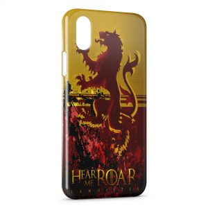 Coque iPhone XS Max Game of Thrones Hear me Roar Lannister