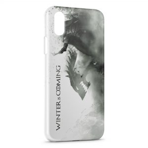 Coque iPhone XS Max Game of Thrones Winter is Coming