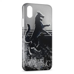 Coque iPhone XS Max Game of Thrones Winter is Coming Stark