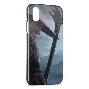 Coque iPhone XS Max Gandalf Seigneur des Anneaux