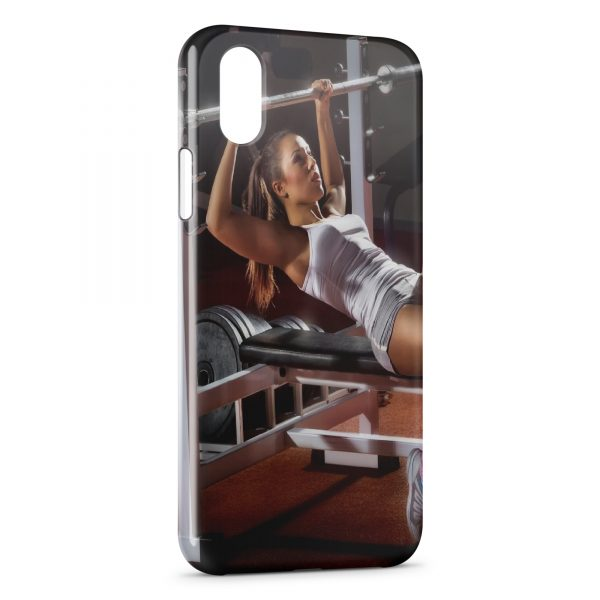 Coque iPhone XS Max Girl Sport Fitness