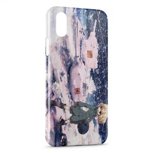 Coque iPhone XS Max Girls Und Panzer Manga 3