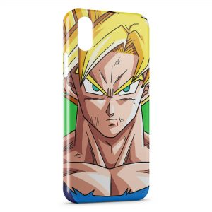 Coque iPhone XS Max Goku Dragon Ball Z 11