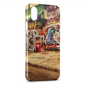 Coque iPhone XS Max Graffiti Street Art