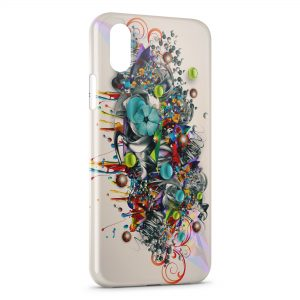 Coque iPhone XS Max Graffiti Style Design