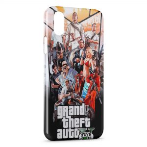 Coque iPhone XS Max Grand Theft Auto GTA 4