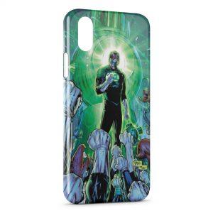 Coque iPhone XS Max Green Lantern 2